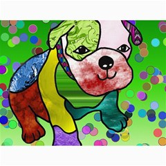 Pug Canvas 18  X 24  (unframed) by Siebenhuehner