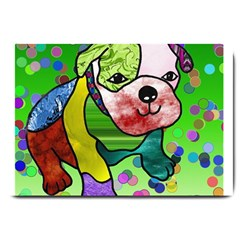 Pug Large Door Mat by Siebenhuehner