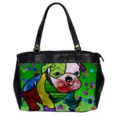 Pug Oversize Office Handbag (one Side) by Siebenhuehner