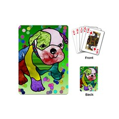 Pug Playing Cards (mini) by Siebenhuehner