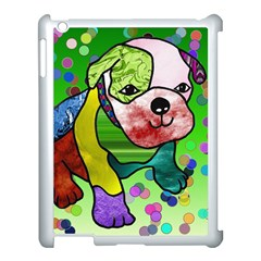 Pug Apple Ipad 3/4 Case (white) by Siebenhuehner