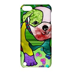 Pug Apple Ipod Touch 5 Hardshell Case With Stand by Siebenhuehner
