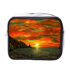 Alyssa s Sunset By Ave Hurley Artrevu   Mini Toiletries Bag (one Side) by ArtRave2