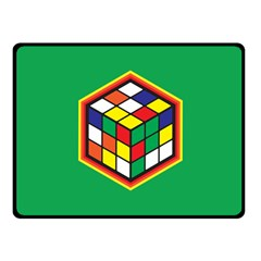 Rubik s Cube Fleece Blanket (small) by Contest1630545