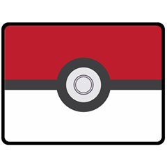 Pokeball Blanket Fleece Blanket (extra Large)