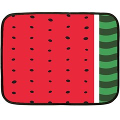 Watermelon Blanket Mini Fleece Blanket (single Sided)