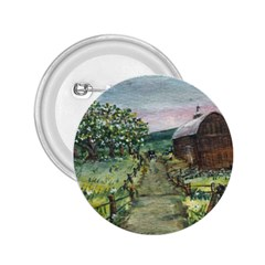 amish Apple Blossoms  By Ave Hurley Of Artrevu   2 25  Button by ArtRave2