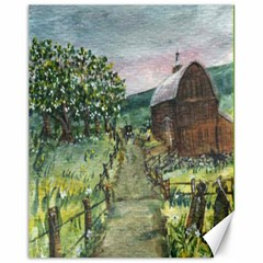 amish Apple Blossoms  By Ave Hurley Of Artrevu   Canvas 11  X 14  by ArtRave2