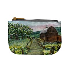 amish Apple Blossoms  By Ave Hurley Of Artrevu   Mini Coin Purse