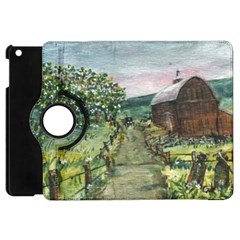 amish Apple Blossoms  By Ave Hurley Of Artrevu   Apple Ipad Mini Flip 360 Case by ArtRave2