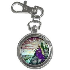 Jesus Overlooking Jerusalem   Ave Hurley   Artrave   Key Chain & Watch