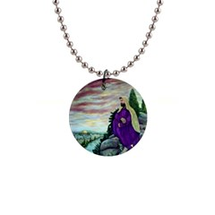 Jesus Overlooking Jerusalem   Ave Hurley   Artrave   Button Necklace by ArtRave2