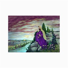 Jesus Overlooking Jerusalem   Ave Hurley   Artrave   Canvas 24  X 36  (unframed) by ArtRave2