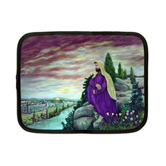 Jesus Overlooking Jerusalem   Ave Hurley   Artrave   Netbook Sleeve (small) by ArtRave2