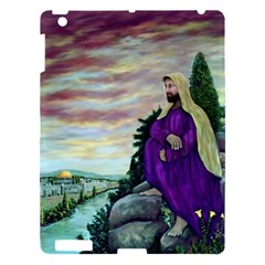 Jesus Overlooking Jerusalem   Ave Hurley   Artrave   Apple Ipad 3/4 Hardshell Case by ArtRave2