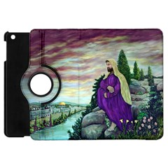 Jesus Overlooking Jerusalem   Ave Hurley   Artrave   Apple Ipad Mini Flip 360 Case by ArtRave2