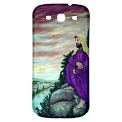 Jesus Overlooking Jerusalem   Ave Hurley   Artrave   Samsung Galaxy S3 S Iii Classic Hardshell Back Case