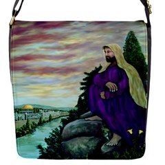 Jesus Overlooking Jerusalem - Ave Hurley - Artrave - Removable Flap Cover (small) by ArtRave2