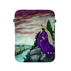 Jesus Overlooking Jerusalem   Ave Hurley   Artrave   Apple Ipad Protective Sleeve by ArtRave2
