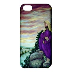 Jesus Overlooking Jerusalem   Ave Hurley   Artrave   Apple Iphone 5c Hardshell Case by ArtRave2