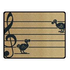 Octave Dodos Fleece Blanket (small) by Contest1732250