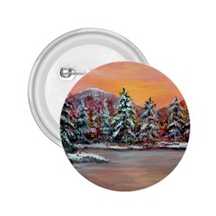 jane s Winter Sunset   By Ave Hurley Of Artrevu   2 25  Button by ArtRave2