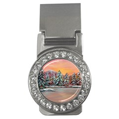 jane s Winter Sunset   By Ave Hurley Of Artrevu   Money Clip (cz) by ArtRave2