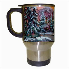 jane s Winter Sunset   By Ave Hurley Of Artrevu   Travel Mug (white) by ArtRave2