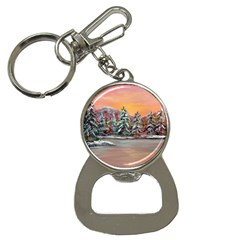 jane s Winter Sunset   By Ave Hurley Of Artrevu   Bottle Opener Key Chain by ArtRave2