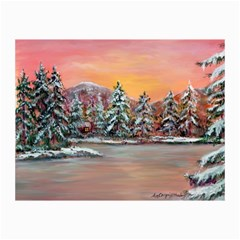 jane s Winter Sunset   By Ave Hurley Of Artrevu   Canvas 24  X 36  by ArtRave2