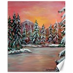 Jane s Winter Sunset   by Ave Hurley of ArtRevu ~ Canvas 11  x 14  14 x11 Canvas - 1