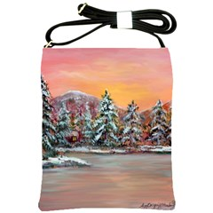 jane s Winter Sunset   By Ave Hurley Of Artrevu   Shoulder Sling Bag by ArtRave2