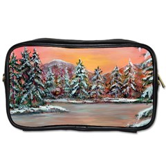 jane s Winter Sunset   By Ave Hurley Of Artrevu   Toiletries Bag (one Side)