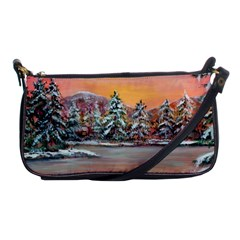 jane s Winter Sunset   By Ave Hurley Of Artrevu   Shoulder Clutch Bag by ArtRave2