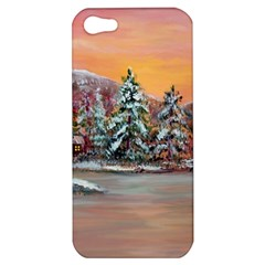 jane s Winter Sunset   By Ave Hurley Of Artrevu   Apple Iphone 5 Hardshell Case by ArtRave2