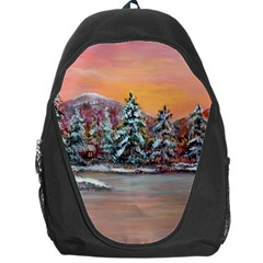jane s Winter Sunset   By Ave Hurley Of Artrevu   Backpack Bag by ArtRave2