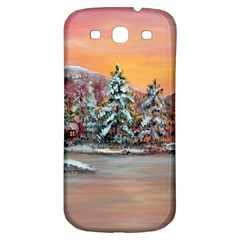jane s Winter Sunset   By Ave Hurley Of Artrevu   Samsung Galaxy S3 S Iii Classic Hardshell Back Case