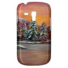 jane s Winter Sunset   By Ave Hurley Of Artrevu   Samsung Galaxy S3 Mini I8190 Hardshell Case by ArtRave2