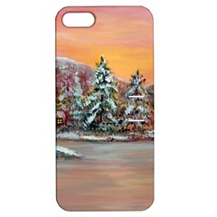 jane s Winter Sunset   By Ave Hurley Of Artrevu   Apple Iphone 5 Hardshell Case With Stand by ArtRave2