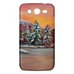 jane s Winter Sunset   By Ave Hurley Of Artrevu   Samsung Galaxy Mega 5 8 I9152 Hardshell Case  by ArtRave2