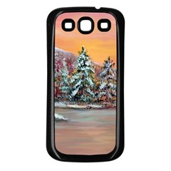 jane s Winter Sunset   By Ave Hurley Of Artrevu   Samsung Galaxy S3 Back Case (black) by ArtRave2
