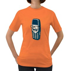 Smart Phone Womens' T Shirt (colored)
