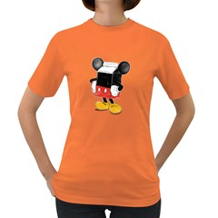 Milky Mouse Womens' T-shirt (colored)