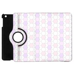 Allover Graphic Soft Pink Apple Ipad Mini Flip 360 Case