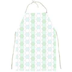 Allover Graphic Soft Aqua Apron by ImpressiveMoments