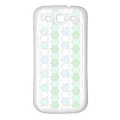 Allover Graphic Soft Aqua Samsung Galaxy S3 Back Case (white) by ImpressiveMoments