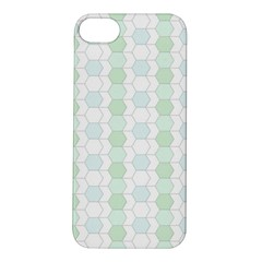 Allover Graphic Soft Aqua Apple Iphone 5s Hardshell Case by ImpressiveMoments
