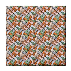 Allover Graphic Brown Ceramic Tile by ImpressiveMoments