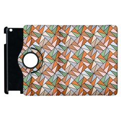 Allover Graphic Brown Apple Ipad 3/4 Flip 360 Case by ImpressiveMoments