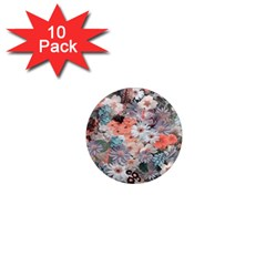 Spring Flowers 1  Mini Button Magnet (10 Pack) by ImpressiveMoments